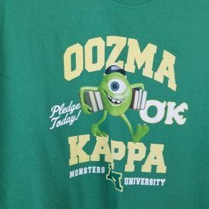 Disney Shirts Monsters University Oozma Kappa Shirt Xl Poshmark